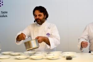 Chef Marco Stabile del ristorante Ora d'Aria di Firenze.