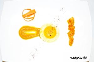 Uovo alla liquirizia e caffè. Ricetta e foto di Roberta Castrichella