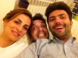 Andrea, Valerio & me!