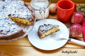 Torta di mele. Foto di Roberta Castrichella.