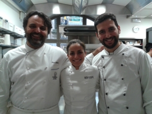 Marco Stabile, Pasquale Fimognari (sous chef) & me!
