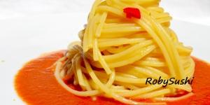 Spaghetti ajo e ojo di mare